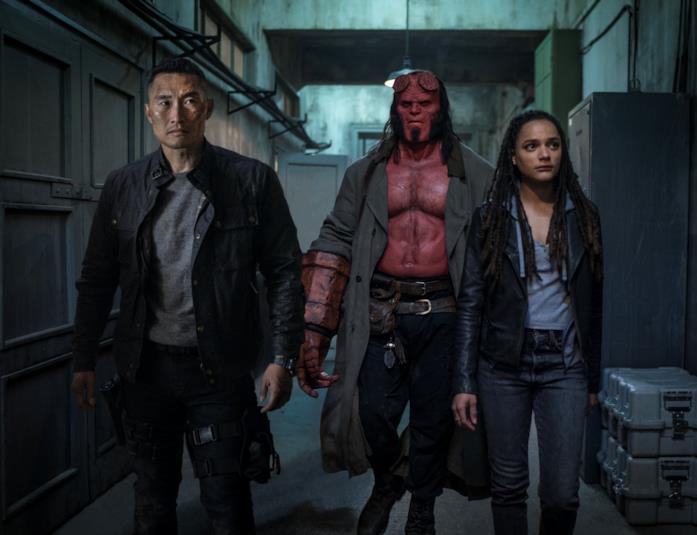 I tre protagonisti di Hellboy