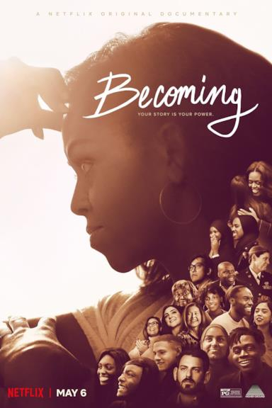 Poster Becoming - La mia storia