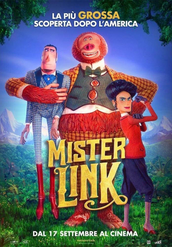 Il poster di Mister Link