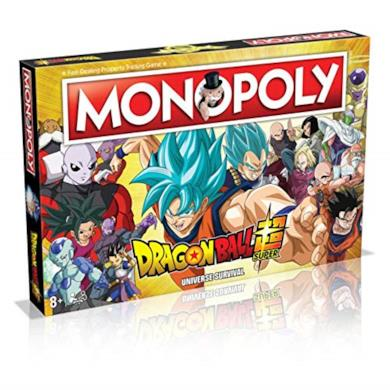 Winning Moves Dragon Ball Z Super Edition Monopoly - Italy Merchandising