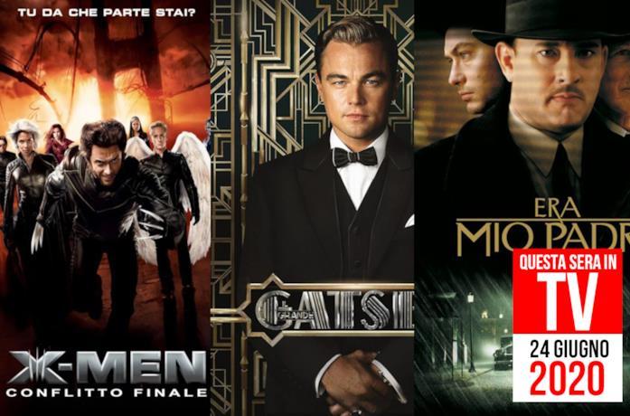 I film in TV oggi: 24 giugno 2020