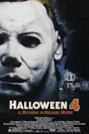 Poster Halloween 4 - Il ritorno di Michael Myers