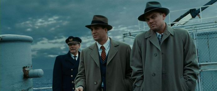 Leonardo DiCaptio e Mark Ruffalo interpretano Teddy Daniels e Chuck Aule