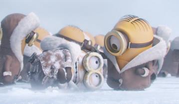 Il Minion Henry, congelato tra i ghiacci