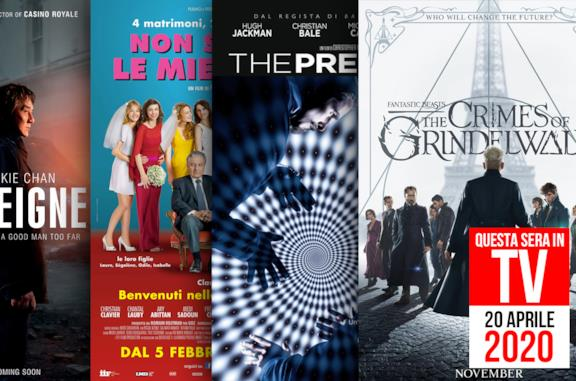 Questa sera film in TV: i consigli di NoSpoiler per il 20 aprile 2020