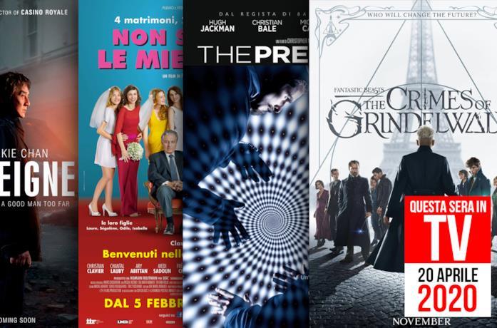 Film in TV: 20 aprile 2020