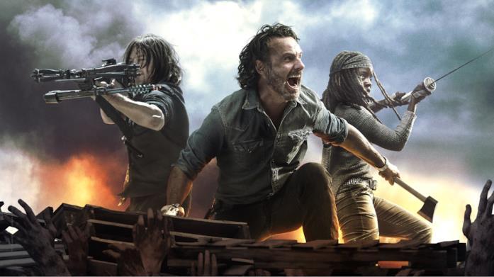 La locandina di The Walking Dead 8 seconda parte