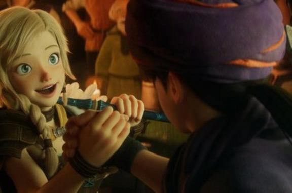 Il film di Dragon Quest compare nel catalogo di Netflix