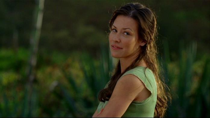 Kate Austen in una scena di Lost