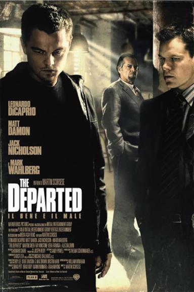 Poster The Departed - Il bene e il male