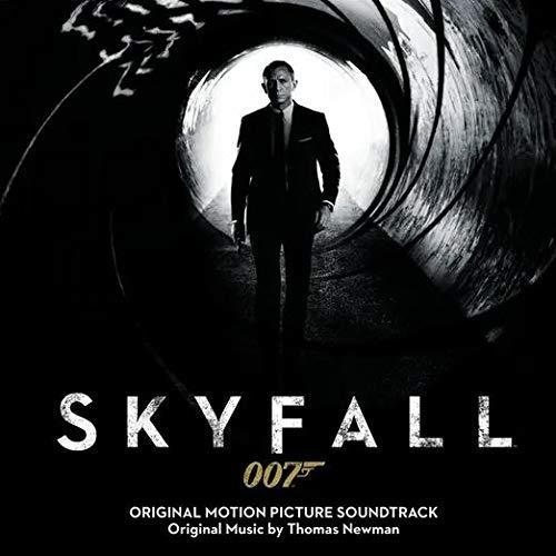 La copertina della colonna sonora di Skyfall