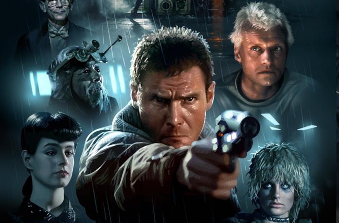 I protagonisti di Blade Runner