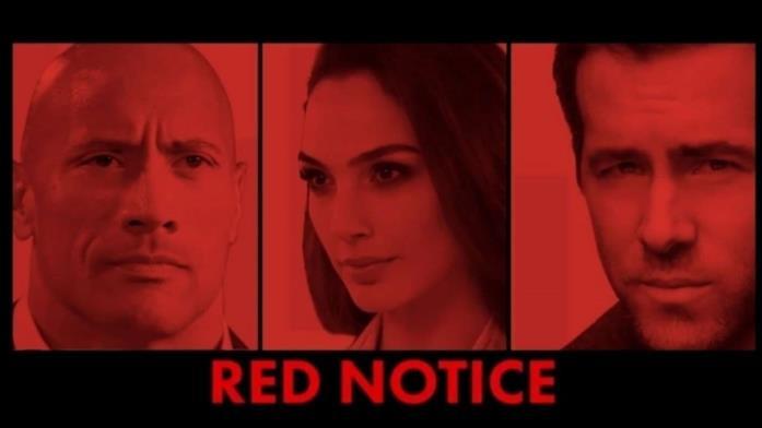 Red Notice, i protagonisti