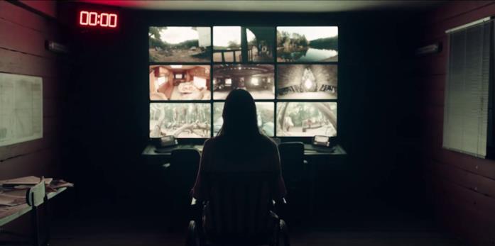 Matilda Lutz in una scena di A Classic Horror Story