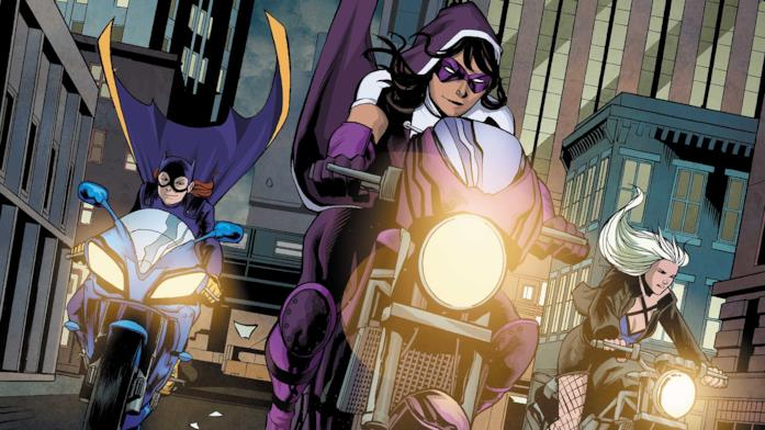 Batgirl, Cacciatrice e Black Canary le Birds of Prey