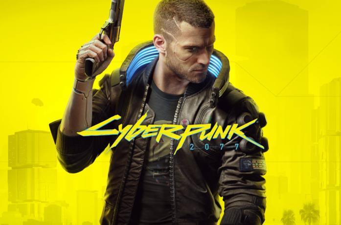 Un personaggio del videogioco Cyberpunk 2077