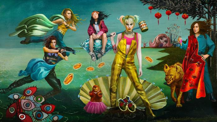 Le protagoniste di Birds of Prey in un'immagine promozionale