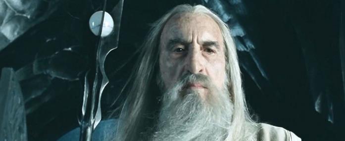 Saruman è il più potente tra i maghi