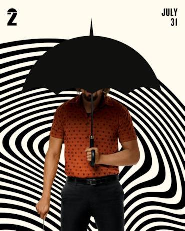 Il character poster di Umbrella Academy 2 con Diego
