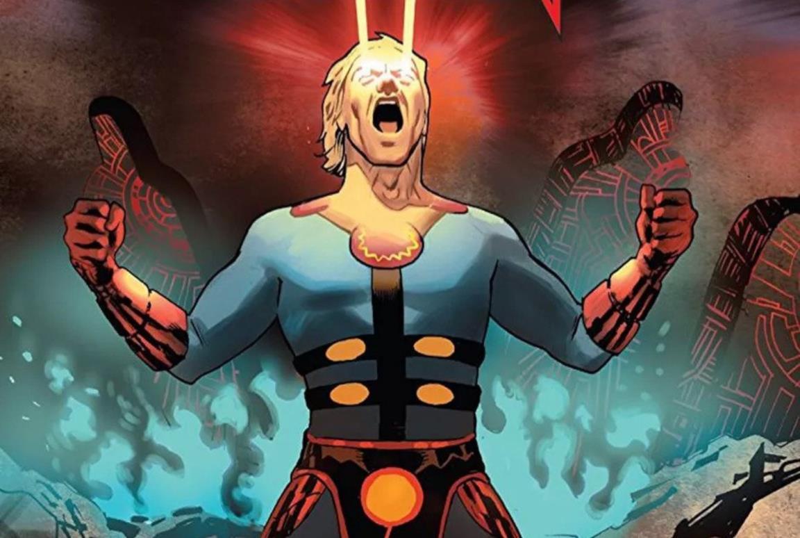 La cover del fumetto Gli Eterni