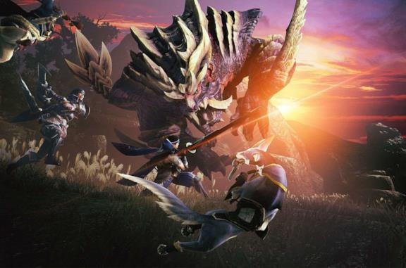 Monster Hunter Rise cover