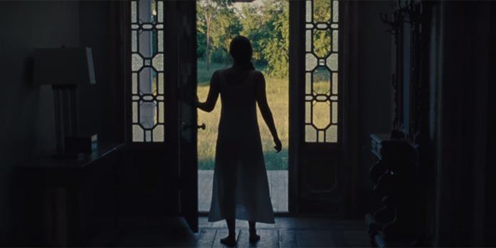 Jennifer Lawrence in una scena di Madre!