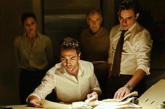 Elyas M'Barek in una scena del film Il caso Collini