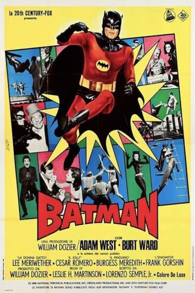 Poster Batman - Il Film