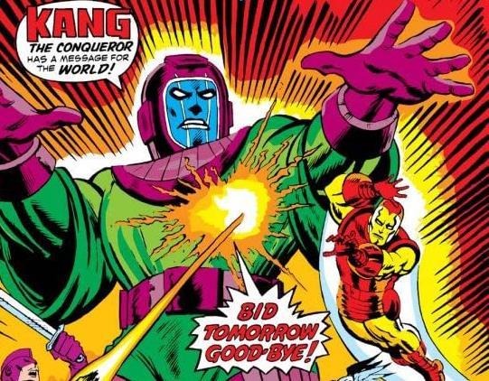 Dettaglio della cover di Avengers #129
