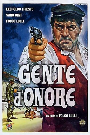 Poster Gente d'onore