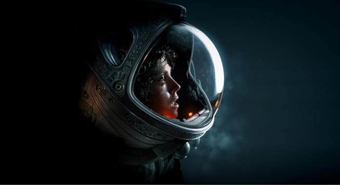 Ripley con la tuta spaziale