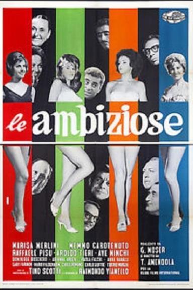Poster Le ambiziose