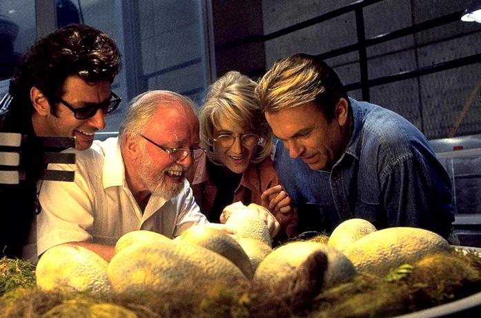 Alcuni attori di Jurassic Park