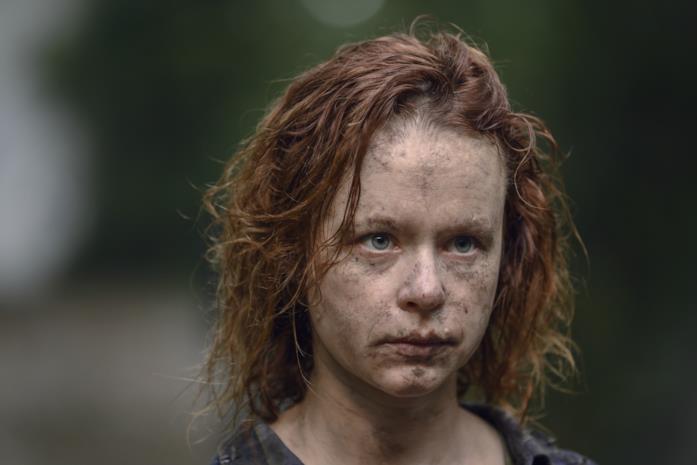 L'attrice Thora Birch nei panni del nuovo personaggio Gamma