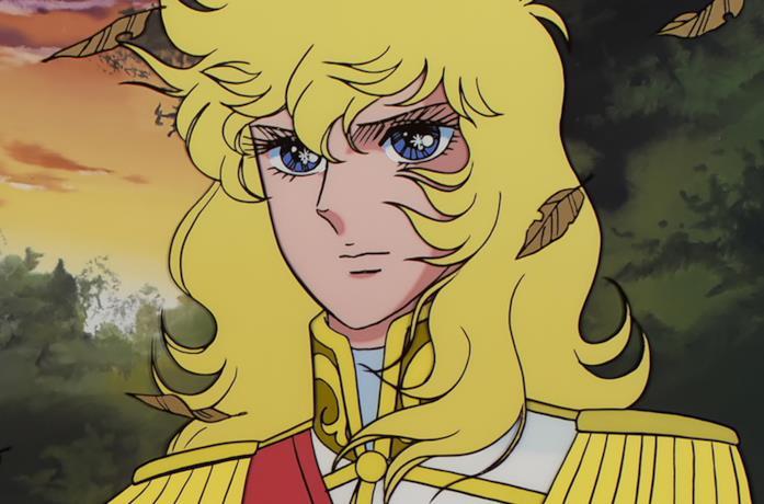 Lady Oscar in una scena della serie anime