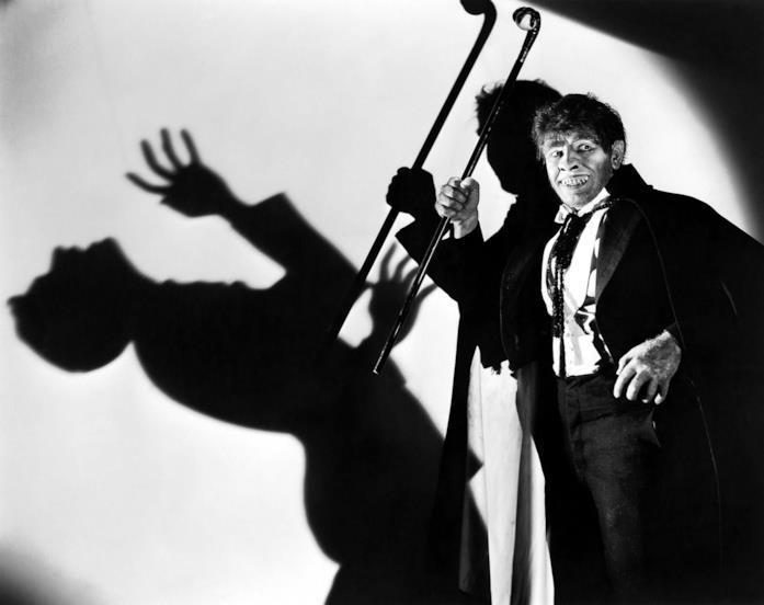 Dr. Jekyll e Mr. Hyde in bianco e nero