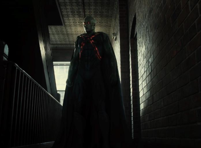 Martian Manhunter sulle scale