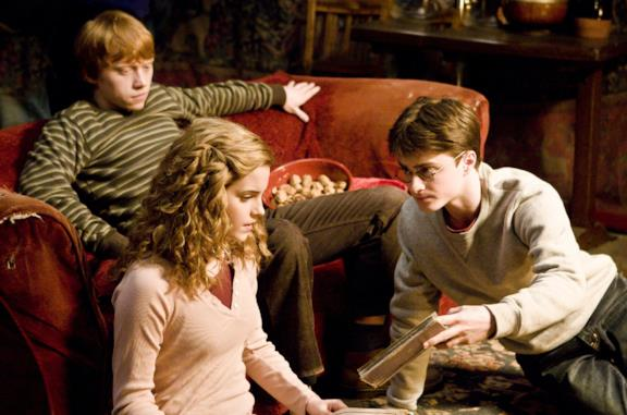 Hermione, Harry e Ron nei film di Harry Potter
