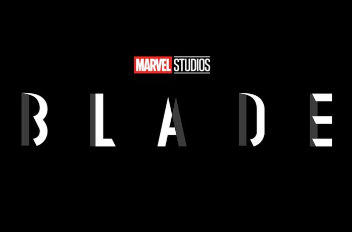 Il logo di Blade, cinecomic sul personaggio Marvel