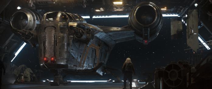 Mark Boone in una scena del Capitolo 6 di The Mandalorian