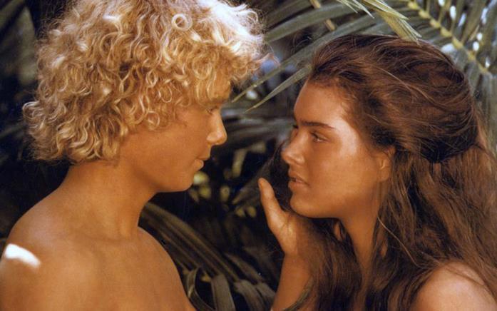 Christopher Atkins e Brooke Shields in Laguna Blu