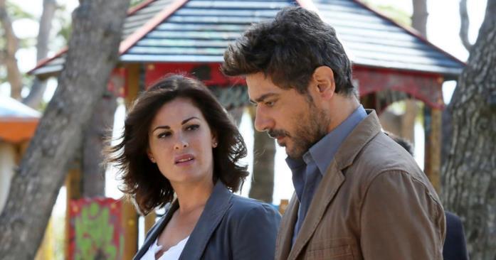 Giuseppe Zeno con Vanessa Incontrada in Come una madre