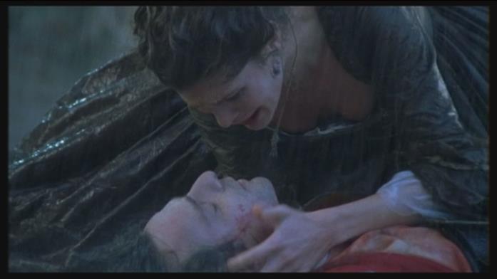 La morte di Fabrizio in Elisa di Rivombrosa