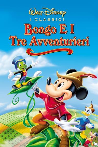 Poster Bongo e i tre avventurieri