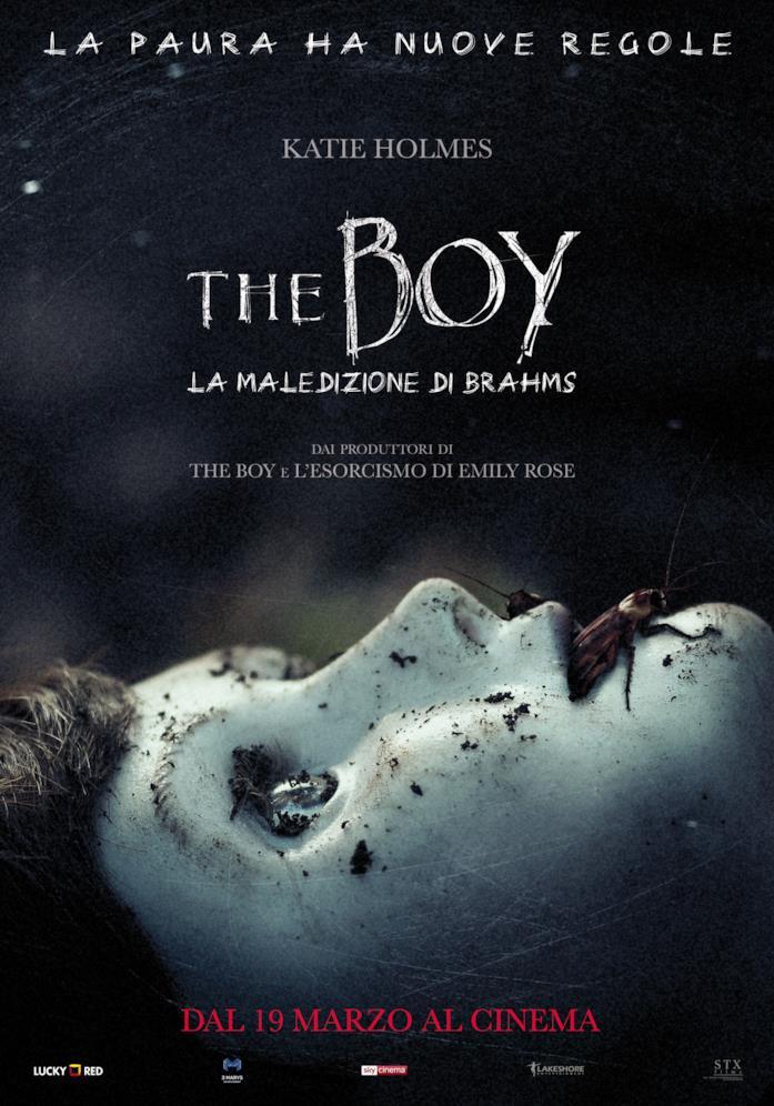 Il poster italiano di The Boy - La madelizione di Brahms