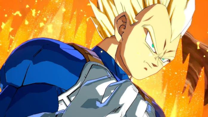 Vegeta in Dragon Ball FighterZ