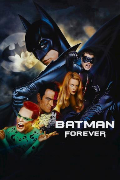 Poster Batman Forever