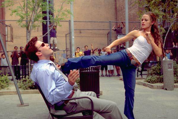 Jennifer Garner e Ben Affleck in Daredevil