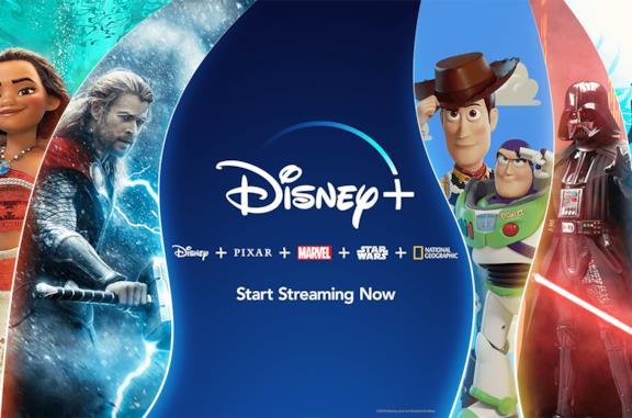 Immagine promozionale del servizio Disney+