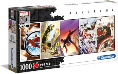 Clementoni - 39546 - Marvel 80 Anni Puzzle Panorama - 1000 Pezzi